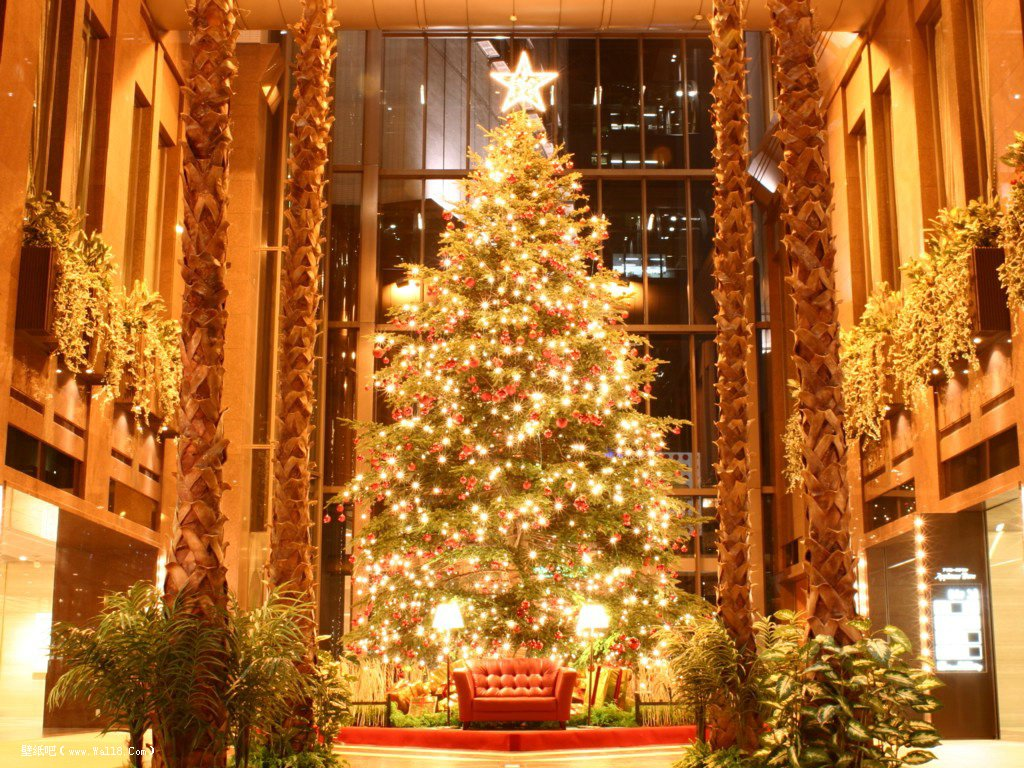 圣诞节平安夜景色