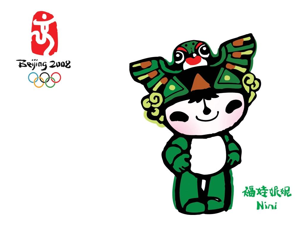2008北京奥运会吉祥物-福娃壁纸