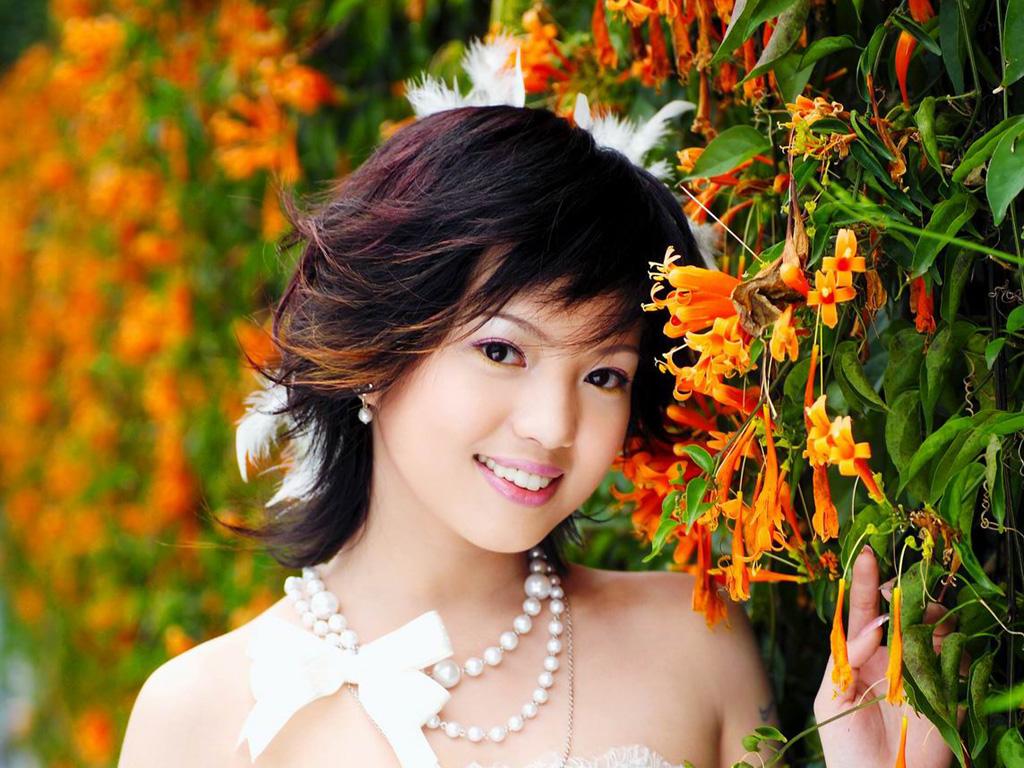 新娘写真壁纸系列新娘素材